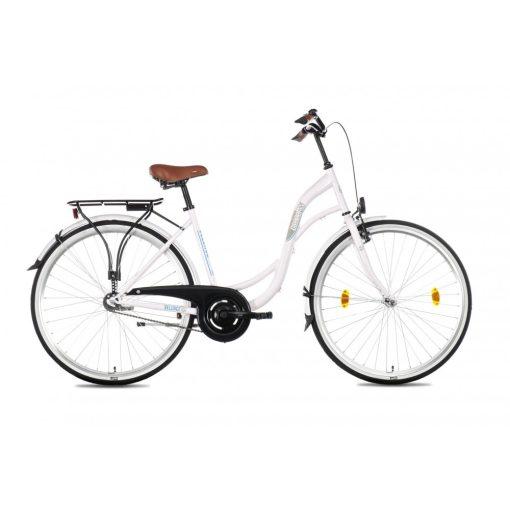 Csepel Velence kerékpár, 3 seb. agyváltó - Fehér