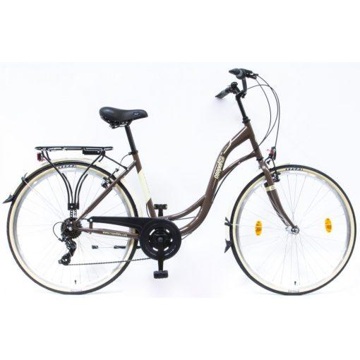 Csepel Velence kerékpár, 7 seb. - Barna