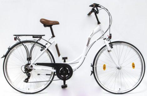Csepel Velence kerékpár, 7 seb. - Fehér