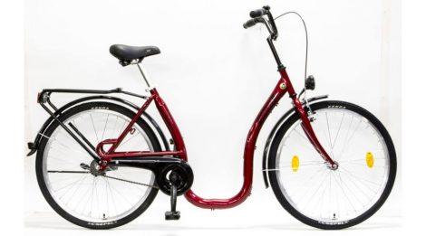 """Csepel Budapest 26"""" C felnőtt kerékpár - Piros"""