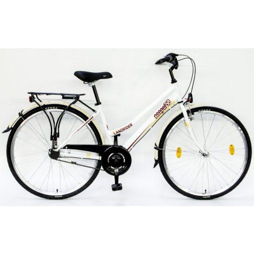 """Csepel Landrider 28"""" kerékpár, 3 seb. agyváltó - Fehér"""