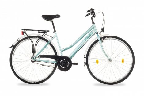 """Csepel Landrider 28"""" kerékpár, 3 seb. agyváltó - ZöldesKék"""