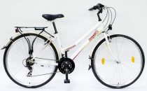 """Csepel Landrider 28"""" kerékpár - KrémFehér"""