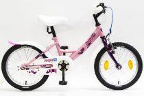 """Csepel Lily 16"""" gyermek kerékpár - Rózsaszín"""