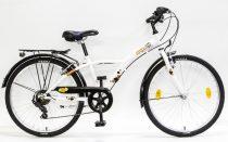 """Csepel Mustang 24"""" gyermek kerékpár - Fehér"""