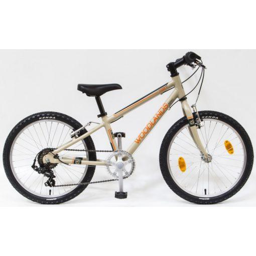 """Csepel Woodlands Zero 20"""" gyermek kerékpár - Homok"""