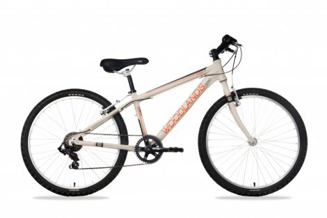 """Csepel Woodlands Zero 24"""" gyermek kerékpár - Homok"""