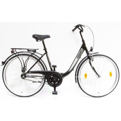 """Csepel Budapest B 26"""" felnőtt kerékpár - Fekete Új szín"""