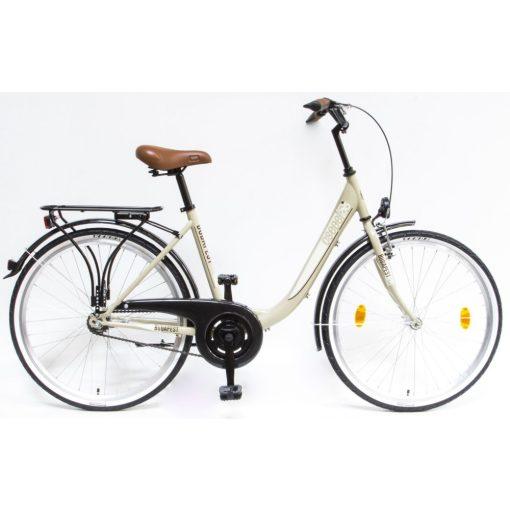 """Csepel Budapest B 26"""" felnőtt kerékpár - Drapp Új szín"""