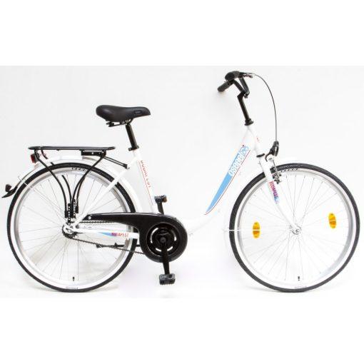 """Csepel Budapest B 26"""" felnőtt kerékpár - Fehér Új szín"""