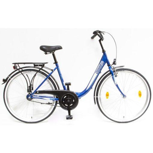 """Csepel Budapest B 26"""" felnőtt kerékpár - Sötétkék Új szín"""