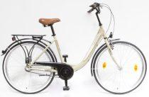"""Csepel Budapest B 26"""" felnőtt kerékpár, 3 seb. agyváltó - Drapp Új szín"""