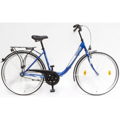 """Csepel Budapest B 28"""" felnőtt kerékpár - Sötétkék Új szín"""