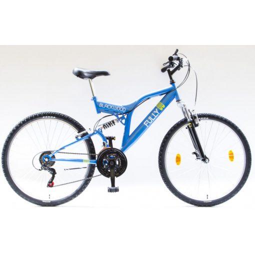 """Csepel Blackwood Fully 24"""" kerékpár - Kék"""