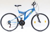 """Csepel Blackwood Fully 26"""" kerékpár - Kék"""