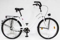 Csepel Blackwood Cruiser női kerékpár - Fehér ÚJ
