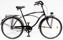 Csepel Blackwood Cruiser férfi kerékpár - Fekete ÚJ