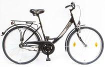 """Csepel Budapest A 26"""" felnőtt kerékpár - Fekete 2020 ÚJ SZÍN"""