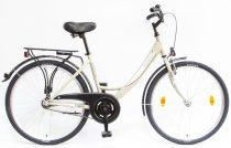 """Csepel Budapest A 26"""" felnőtt kerékpár - Drapp 2020 ÚJ SZÍN"""