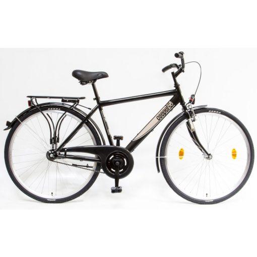 """Csepel Budapest 28"""" felnőtt Férfi kerékpár - Fekete 2020"""