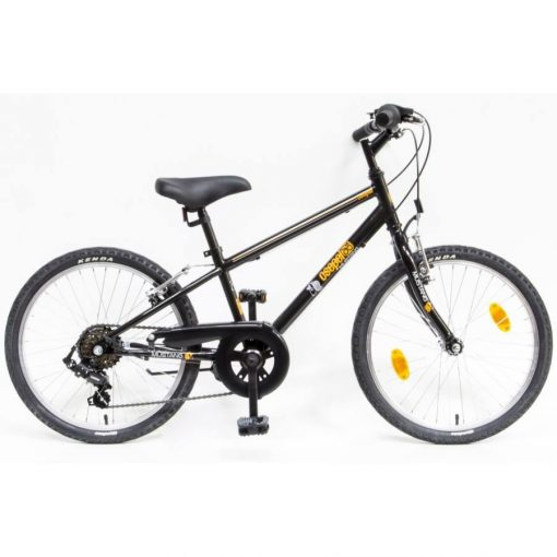 """Csepel Mustang 20"""" gyermek kerékpár - Fekete 2020"""