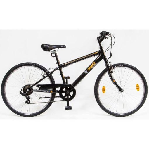 """Csepel Mustang 24"""" gyermek kerékpár - Fekete 2020"""