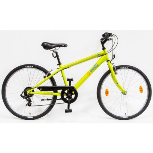 """Csepel Mustang 24"""" gyermek kerékpár - Zöld 2020"""