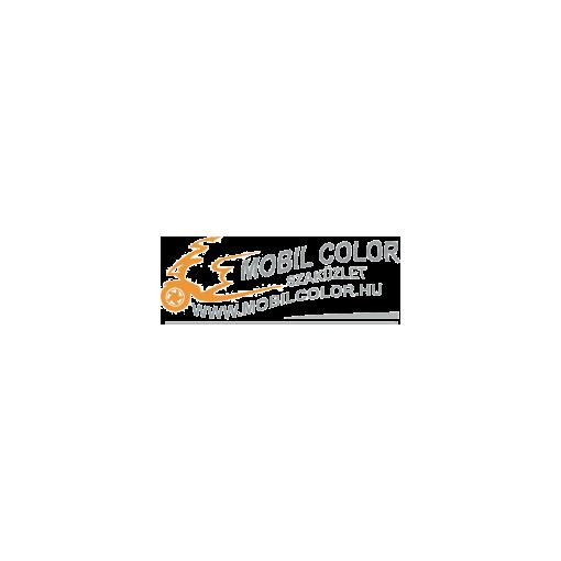 Kerékpár markolat bőr, varrott - pink 135 mm